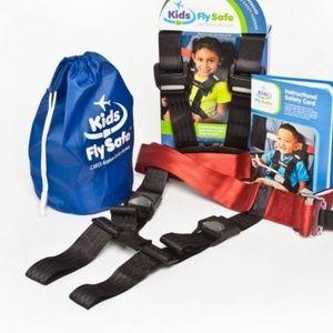 KIDS AIRPLANE SAFETY RESTRIANT SEAT BELY